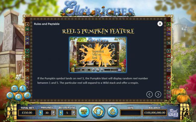 Ella's Riches :: Reel 3 Pumpkin Feature