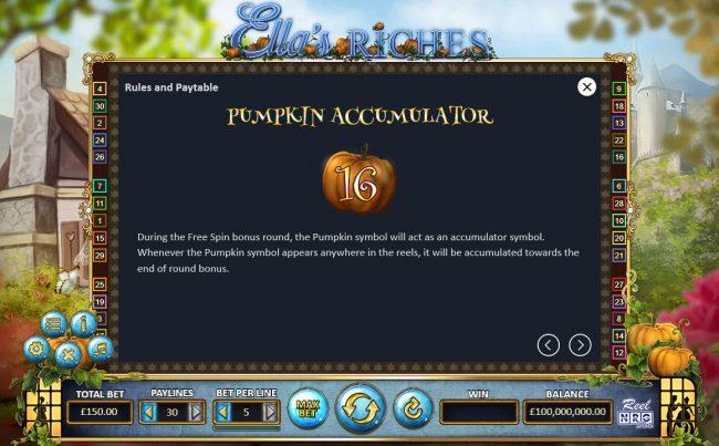 Ella's Riches :: Pumpkim Accumulator