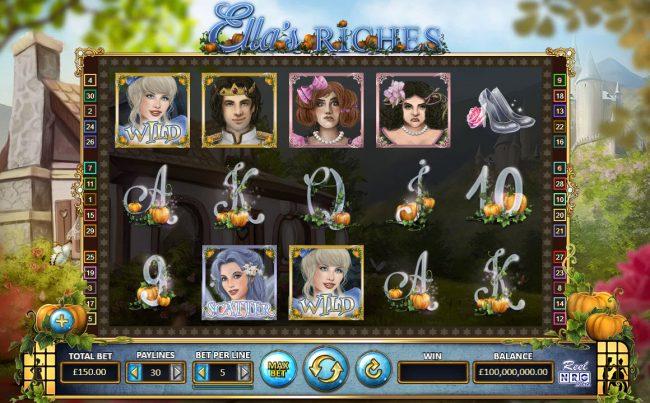 Ella's Riches :: Main Game Board
