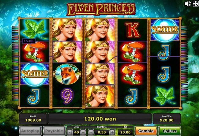Wilds symbols trigger multiple winning paylines