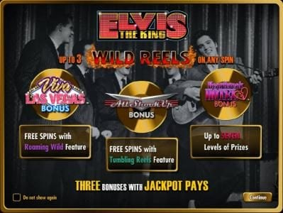 Play slots at Powerspins: Powerspins featuring the Video Slots Elvis the King with a maximum payout of $250.000