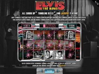 All Shook Up - Tumbling Reels and Jackpot Feature
