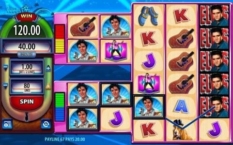 Powerspins featuring the Video Slots Elvis the King Lives with a maximum payout of $250,000