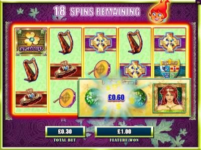 BGO Vegas featuring the Video Slots Emerald Eyes with a maximum payout of $15,000