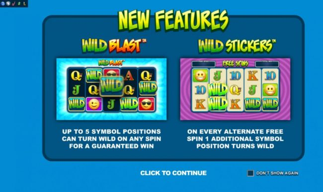 Crazy vegas featuring the Video Slots Emoticoins with a maximum payout of $460,000