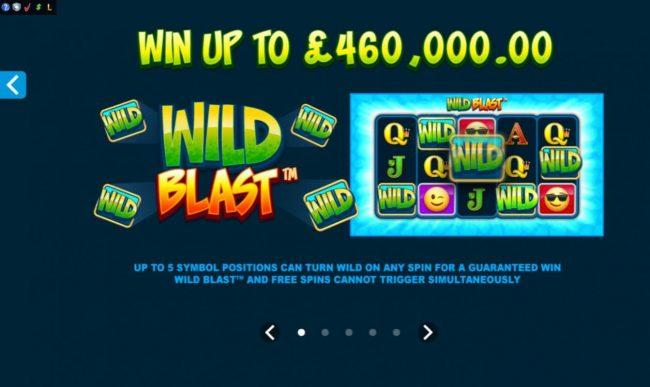 21 Jackpots featuring the Video Slots Emoticoins with a maximum payout of $460,000