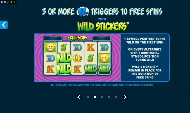 Coral featuring the Video Slots Emoticoins with a maximum payout of $460,000