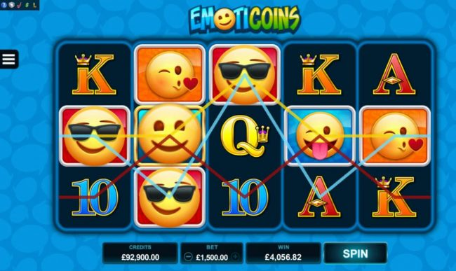 Captain Cooks featuring the Video Slots Emoticoins with a maximum payout of $460,000