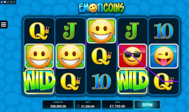 Play slots at All British: All British featuring the Video Slots Emoticoins with a maximum payout of $460,000
