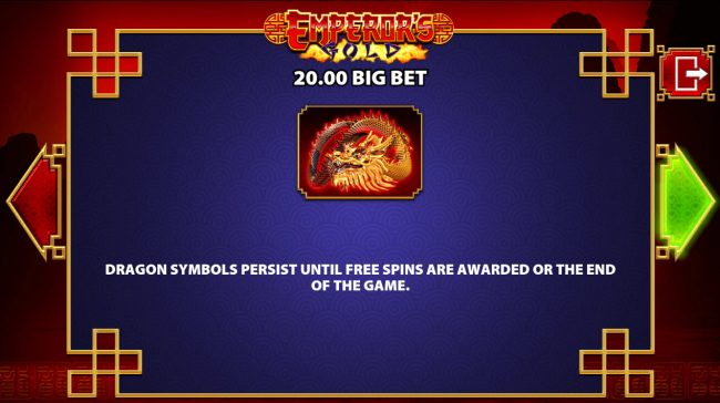 DruckGluck featuring the Video Slots Emperor's Gold with a maximum payout of $250,000
