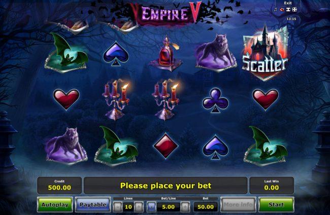 Empire V :: Main Game Board