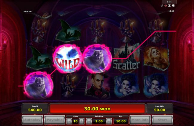 Empire V :: Free Spins Game Board