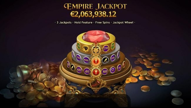 Play slots at Omnia: Omnia featuring the Video Slots Empire Fortune with a maximum payout of Jackpot
