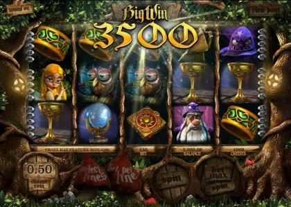 Carbon Casino featuring the Video Slots Enchanted with a maximum payout of $25,000