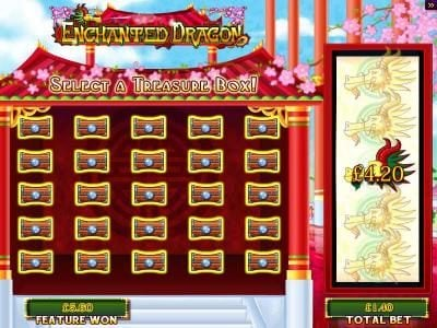 Play slots at Casumo: Casumo featuring the Video Slots Enchanted Dragon with a maximum payout of $250,000