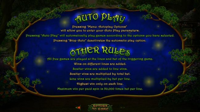 Other Game Rules.