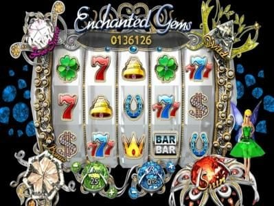 Winaday featuring the Video Slots Enchanted Gems with a maximum payout of $1,000