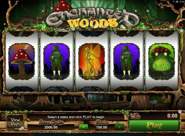 Play slots at Lucky 247: Lucky 247 featuring the Video Slots Enchanted Woods with a maximum payout of $18,000