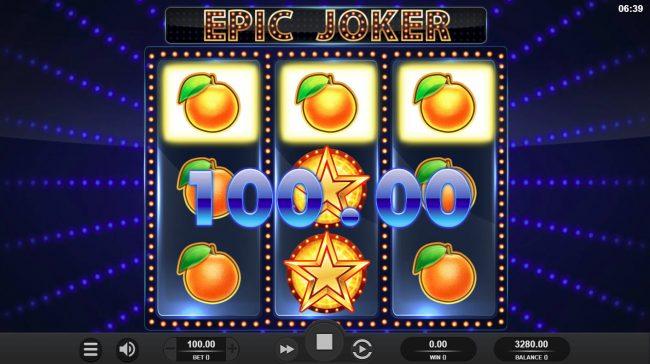Epic Joker :: A winning three of a kind