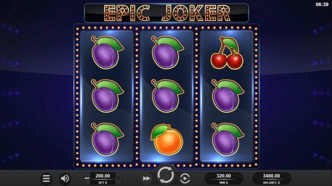 Epic Joker :: A pair of winning paylines