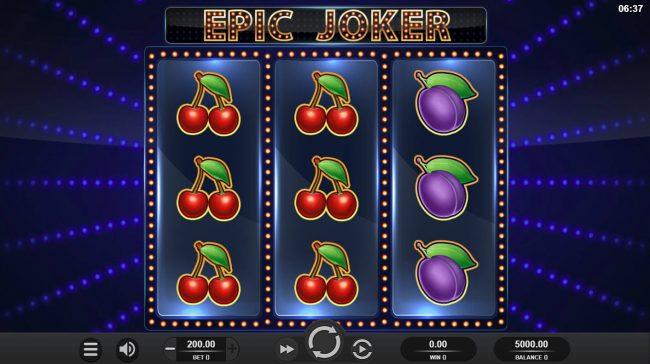 Epic Joker :: Main Game Board