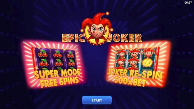 Epic Joker :: Introduction