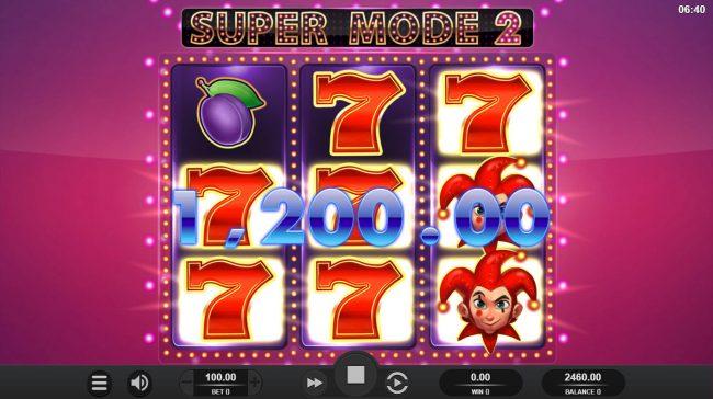 Epic Joker :: Multiple winning paylines triggers a big win