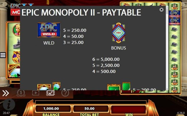 High value slot game symbols paytable - Bonus symbols is the highest value symbol on the reels and a five of a kind will pay $5,000.