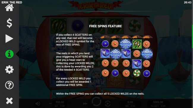 Erik the Red :: Free Spins Rules