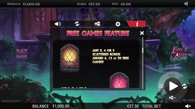 Vbet Casino featuring the Video Slots Ever After with a maximum payout of $182,250