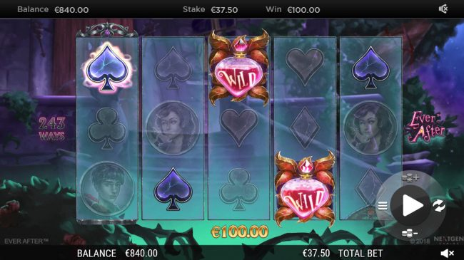 All Irish featuring the Video Slots Ever After with a maximum payout of $182,250