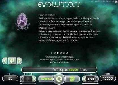 evolution feature rules