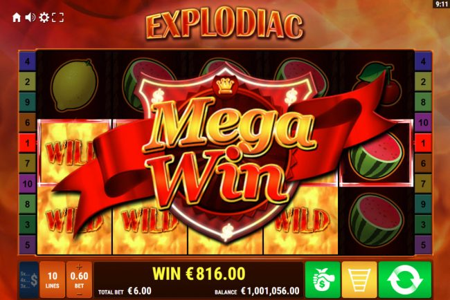 Explodiac :: Mega Win