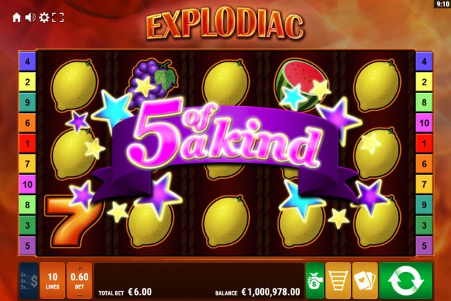 Explodiac :: Five of a Kind