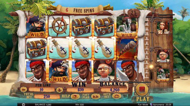 Exploding Pirates :: Big Win