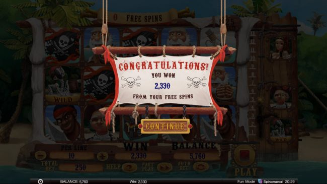 Play slots at Argo: Argo featuring the Video Slots Exploding Pirates with a maximum payout of $125,000