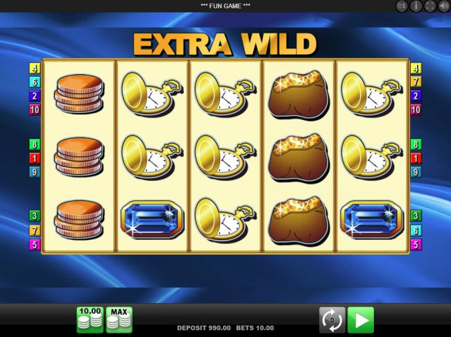 Play slots at Slot Planet: Slot Planet featuring the Video Slots Extra Wild with a maximum payout of $25,000
