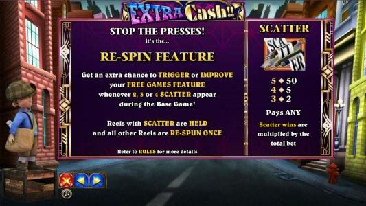 Play slots at Euro King: Euro King featuring the Video Slots Extra Cash with a maximum payout of $1,000