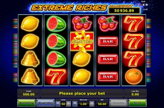 Extreme Riches :: Main Game Board