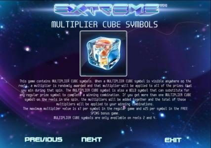 Extreme :: multiplier cube rules