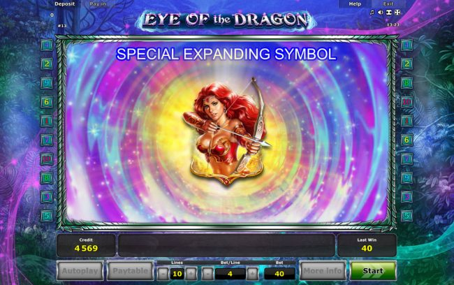 Eye of the Dragon :: Special Expanding Symbol
