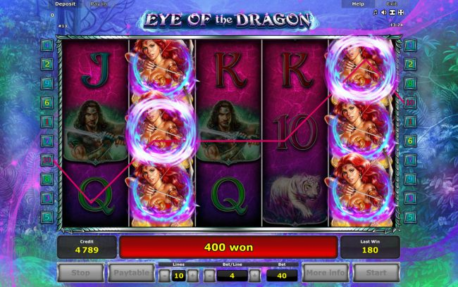 Eye of the Dragon :: Big Win