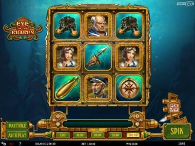 Play slots at Shadowbet: Shadowbet featuring the Video Slots Eye of the Kraken with a maximum payout of $500,000