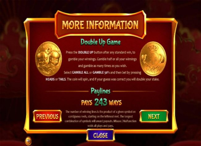 Top Bet featuring the Video Slots Fa Fa Twins with a maximum payout of $810,000
