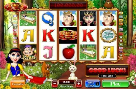 Coral featuring the Video Slots Fairest of Them All with a maximum payout of 5,000x