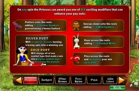 Mega Casino featuring the Video Slots Fairest of Them All with a maximum payout of 5,000x