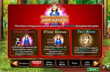 Slots Million featuring the Video Slots Fairest of Them All with a maximum payout of 5,000x
