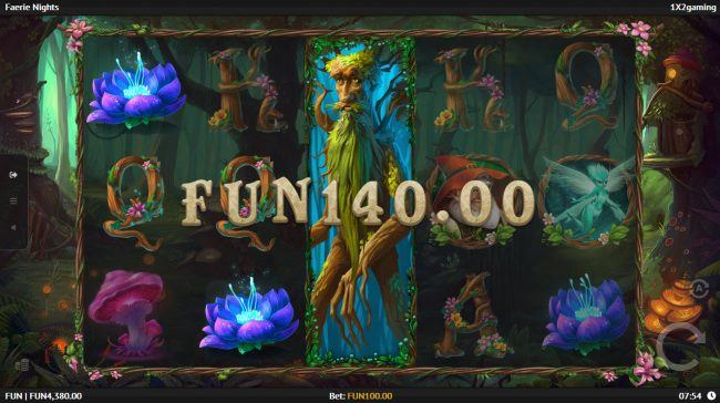 Enzo Casino featuring the Video Slots Fairie Nights with a maximum payout of $100,000