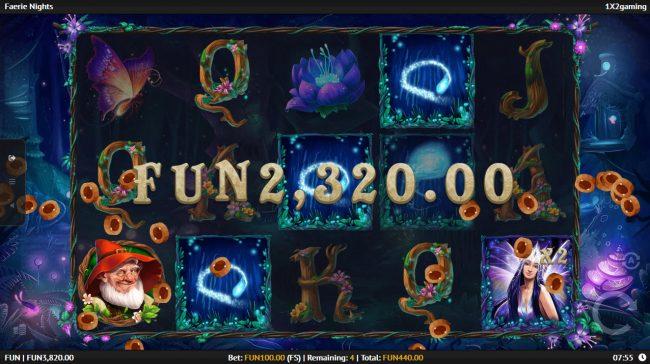 Fairie Nights :: Multiple winning paylines