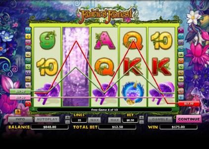multiple winning paylines triggers a big win during the free games feature